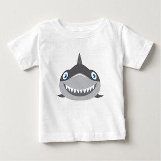cute happy shark face baby T-Shirt