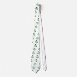 Cute Happy St. Patrick's Day Lucky Celebrate Print Tie