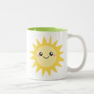 Cute Happy Sun Mugs