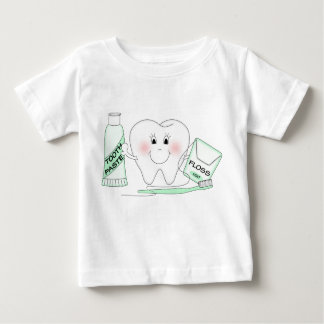 Cute Happy Tooth Toddler T-Shirt
