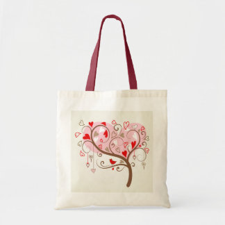 Cute Happy Valentines Day Text Design Tote Bags
