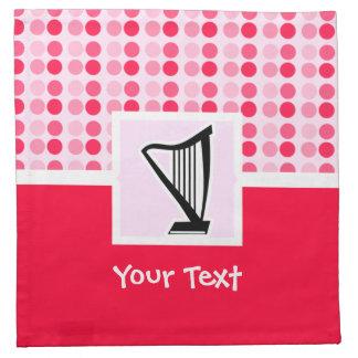 Cute Harp Cloth Napkin