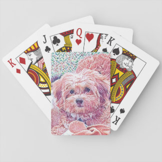Cute Havanese Playing Cards