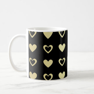 Cute Heart Pattern Coffee Mug
