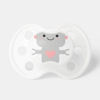 Cute Heart Robot Pacifier