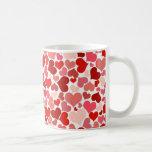 Cute Hearts Coffee Mugs
