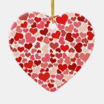 Cute Hearts Ornament