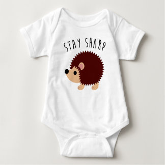 Cute Hedgehog Baby Bodysuit