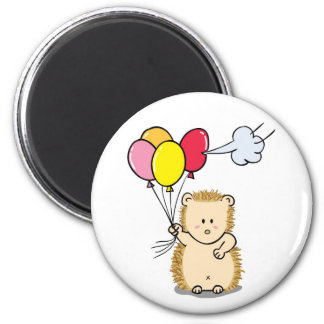 Cute hedgehog Cartoon Magnet