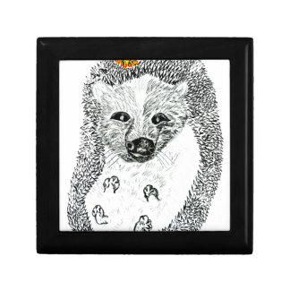 Cute Hedgehog Drawing2 Gift Box