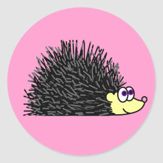 Cute Hedgehog Stickers