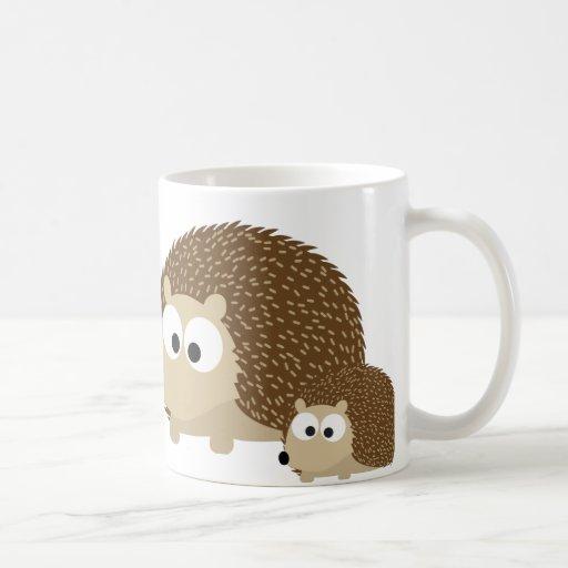 Cute Hedgehogs Coffee Mugs