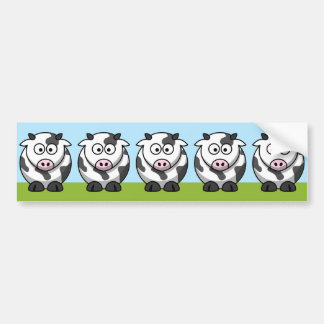 Cute Herd Bumper Sticker
