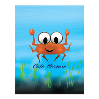 Cute Hermie Multiple Products Selected Custom Letterhead
