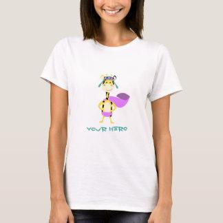 Cute Hero Giraffe T-Shirt