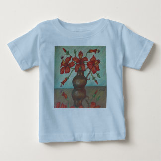 Cute hibiscus tee for baby!