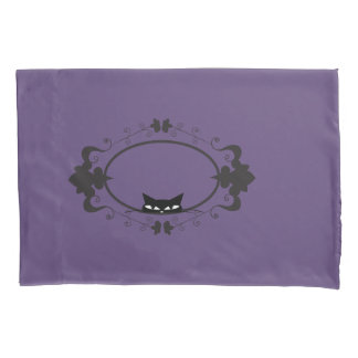 Cute Hiding Cat Pillowcase