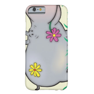 cute hippie hippo barely there iPhone 6 case