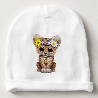 Cute Hippie Leopard Cub Baby Beanie