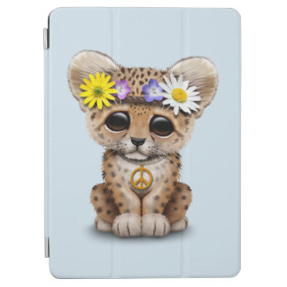 Cute Hippie Leopard Cub iPad Air Cover