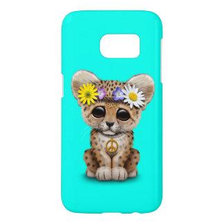 Cute Hippie Leopard Cub Samsung Galaxy S7 Case