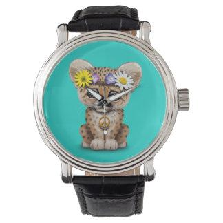 Cute Hippie Leopard Cub Watch