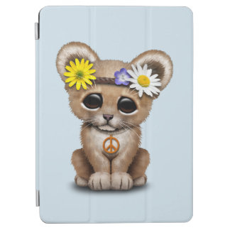 Cute Hippie Lion Cub iPad Air Cover