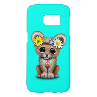 Cute Hippie Lion Cub Samsung Galaxy S7 Case