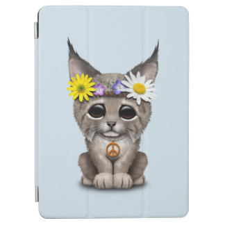 Cute Hippie Lynx Cub iPad Air Cover