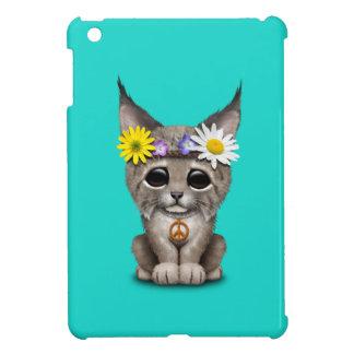 Cute Hippie Lynx Cub iPad Mini Cover