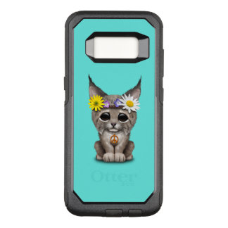 Cute Hippie Lynx Cub OtterBox Commuter Samsung Galaxy S8 Case