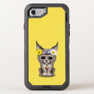 Cute Hippie Lynx Cub OtterBox Defender iPhone 8/7 Case