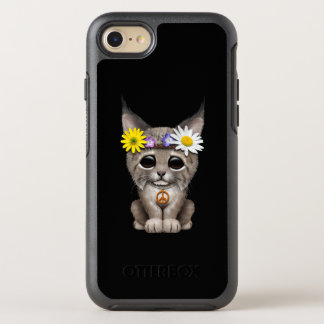 Cute Hippie Lynx Cub OtterBox Symmetry iPhone 8/7 Case