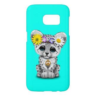 Cute Hippie Snow leopard Cub Samsung Galaxy S7 Case
