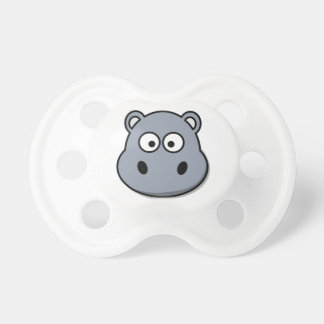 Cute Hippo Baby Pacifiers