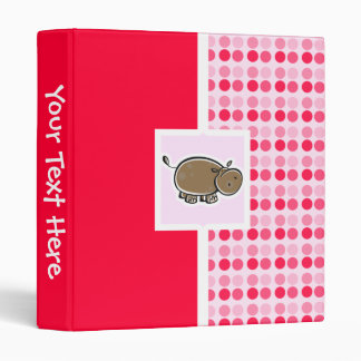 Cute Hippo Binders