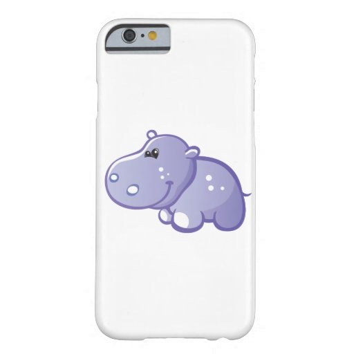 Cute Hippo Barely There iPhone 6 Case