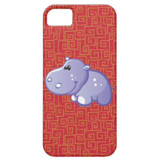 Cute Hippo iPhone 5 Cases