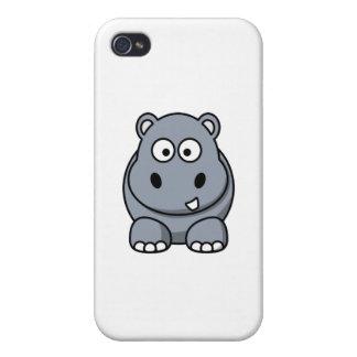 cute hippo case iPhone 4/4S cover