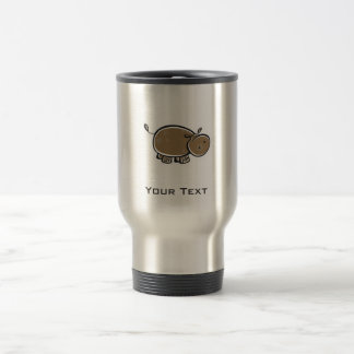 Cute Hippo; Cool Travel Mug