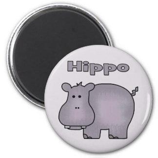 Cute Hippo Magnet