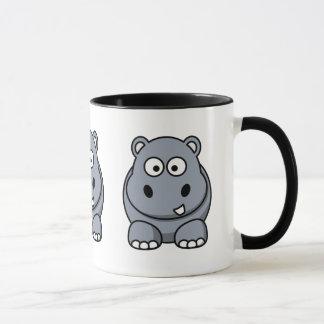 Cute Hippo Mug