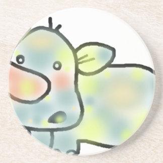 Cute hippopotamus coaster