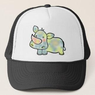 Cute hippopotamus trucker hat