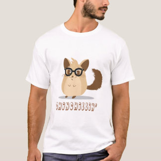 Cute Hipster Chinchilla T-Shirt