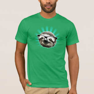 Cute! Hipster Sloth T-Shirt
