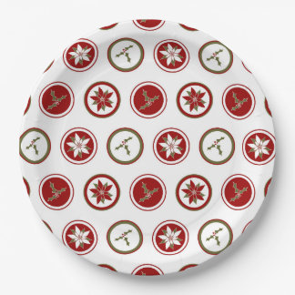 Cute Holiday Paper Plates