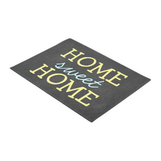 Cute Home Sweet Home Door Mat
