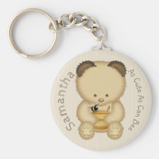 Cute Honey Bear Keychain