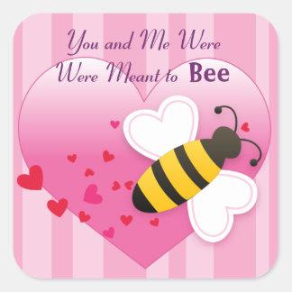 Cute Honey Bee Love Sticker